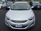 2013 Shimmering Air Silver Hyundai Elantra GLS #79627799