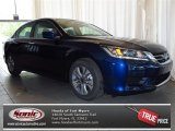 2013 Obsidian Blue Pearl Honda Accord LX Sedan #79684436