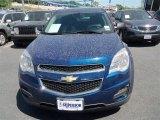 2010 Navy Blue Metallic Chevrolet Equinox LS #79684503