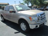 2012 Pale Adobe Metallic Ford F150 Lariat SuperCrew #79684493