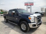 2012 Dark Blue Pearl Metallic Ford F250 Super Duty XLT Crew Cab 4x4 #79684718