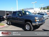 2006 Blue Granite Metallic Chevrolet Silverado 1500 LT Crew Cab #79684642