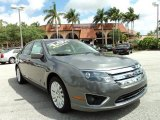 2010 Sterling Grey Metallic Ford Fusion Hybrid #79684538