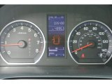 2010 Honda CR-V LX Gauges