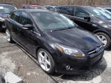 2012 Tuxedo Black Metallic Ford Focus Titanium 5-Door #79712756