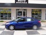 2012 Sonic Blue Metallic Ford Focus S Sedan #79713349