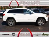 2014 Bright White Jeep Grand Cherokee Limited 4x4 #79712730