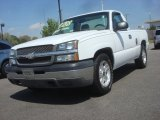 2003 Summit White Chevrolet Silverado 1500 Regular Cab #79713941