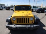2007 Jeep Wrangler Unlimited Detonator Yellow