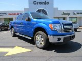 2011 Blue Flame Metallic Ford F150 XLT SuperCrew #79713134