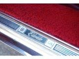 Cadillac Eldorado Badges and Logos