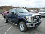 2013 Blue Jeans Metallic Ford F250 Super Duty XLT SuperCab 4x4 #79712934