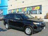 2011 Ebony Black Kia Sorento LX AWD #79713931