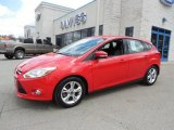 2012 Race Red Ford Focus SE Sport 5-Door #79713119