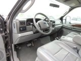 2004 Ford F350 Super Duty Lariat Crew Cab 4x4 Dually Medium Flint Interior