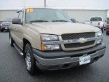 2005 Sandstone Metallic Chevrolet Silverado 1500 LS Extended Cab 4x4 #79713509