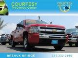 2010 Victory Red Chevrolet Silverado 1500 LS Crew Cab #79713699
