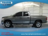 2008 Mineral Gray Metallic Dodge Ram 1500 Big Horn Edition Quad Cab 4x4 #79712871