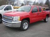 2013 Victory Red Chevrolet Silverado 1500 LT Extended Cab #79713855