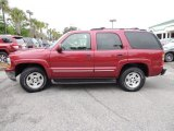 Sport Red Metallic Chevrolet Tahoe in 2004