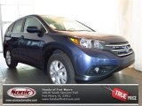 2013 Twilight Blue Metallic Honda CR-V EX #79712631