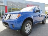 2013 Metallic Blue Nissan Frontier SV King Cab #79713265