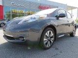 2013 Metallic Slate Nissan LEAF SL #79713261