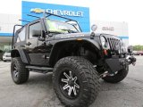 2012 Black Jeep Wrangler Rubicon 4X4 #79713259