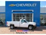 2013 Summit White Chevrolet Silverado 1500 Work Truck Regular Cab #79713461