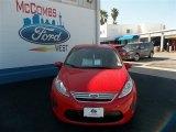 2013 Race Red Ford Fiesta SE Sedan #79712804