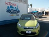 2013 Lime Squeeze Ford Fiesta SE Sedan #79712801
