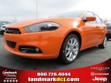 2013 Header Orange Dodge Dart SXT #79712997
