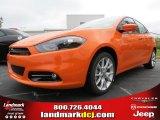 2013 Header Orange Dodge Dart SXT #79712996