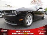 2013 Pitch Black Dodge Challenger SXT #79712988