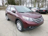 2013 Basque Red Pearl II Honda CR-V EX-L AWD #79713614