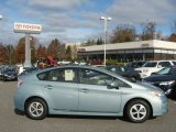 2012 Sea Glass Pearl Toyota Prius 3rd Gen Two Hybrid #79713186