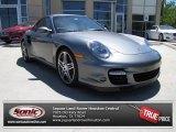 2007 Meteor Grey Metallic Porsche 911 Turbo Coupe #79713594