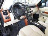 2007 Land Rover Range Rover HSE Ivory/Black Interior