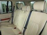 2007 Land Rover Range Rover HSE Rear Seat