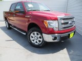 2013 Ruby Red Metallic Ford F150 XLT SuperCrew 4x4 #79713168