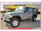 2013 Billet Silver Metallic Jeep Wrangler Unlimited Sport 4x4 #79713387