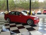 2006 Electric Red BMW 3 Series 330i Sedan #79814582