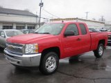 2013 Victory Red Chevrolet Silverado 1500 LT Extended Cab 4x4 #79814551