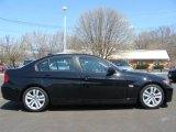 2008 Jet Black BMW 3 Series 328i Sedan #7967454