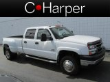 2006 Summit White Chevrolet Silverado 3500 LT Crew Cab 4x4 Dually #79814406
