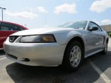 2001 Silver Metallic Ford Mustang V6 Coupe #79814392