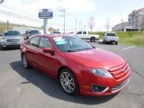 2010 Red Candy Metallic Ford Fusion SE #79813977
