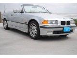 1996 Arctic Silver Metallic BMW 3 Series 328i Convertible #79814474