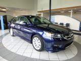 2013 Obsidian Blue Pearl Honda Accord EX-L Sedan #79814371