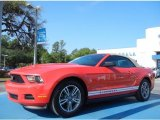 2012 Race Red Ford Mustang V6 Premium Convertible #79813955